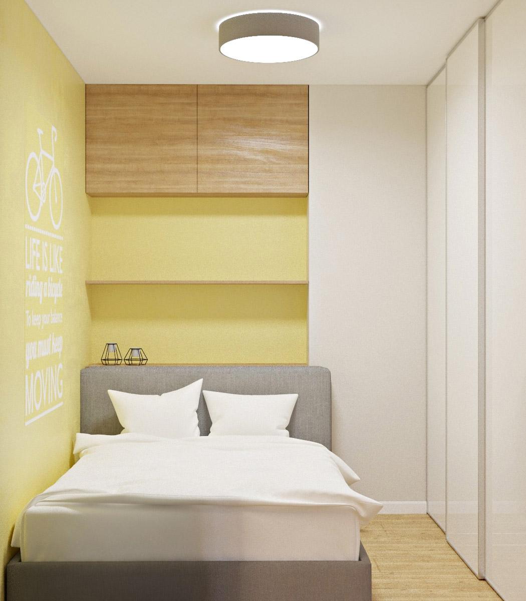 Дизайн спальної зони | проект Глушкова