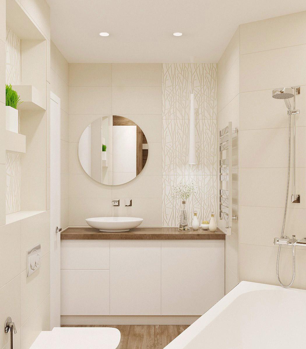 Дизайн ванної кімнати | проект Глушкова