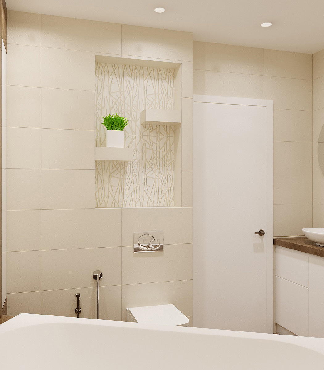 Ванна кімната | проект Глушкова