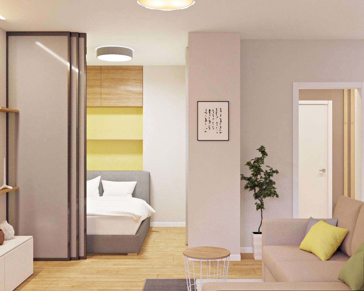 Дизайн інтер'єру квартири | проект Глушкова