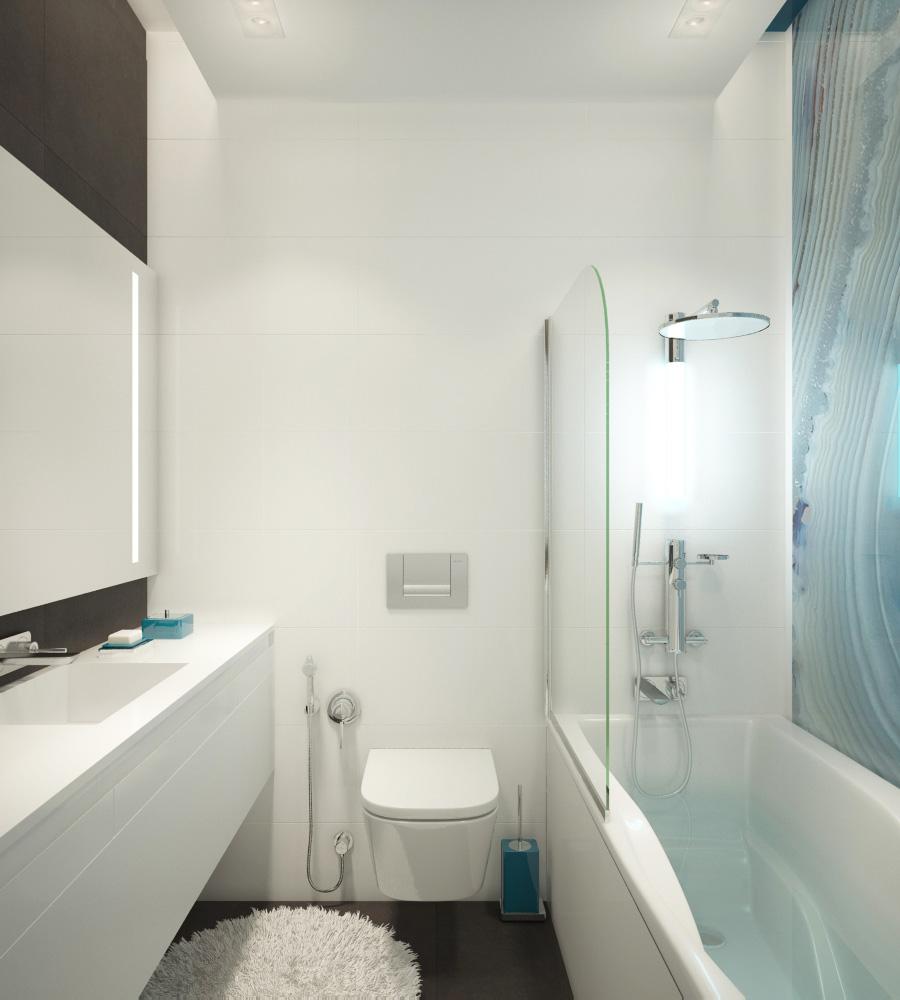 Дизайн ванної кімнати | проект Мінімалізм