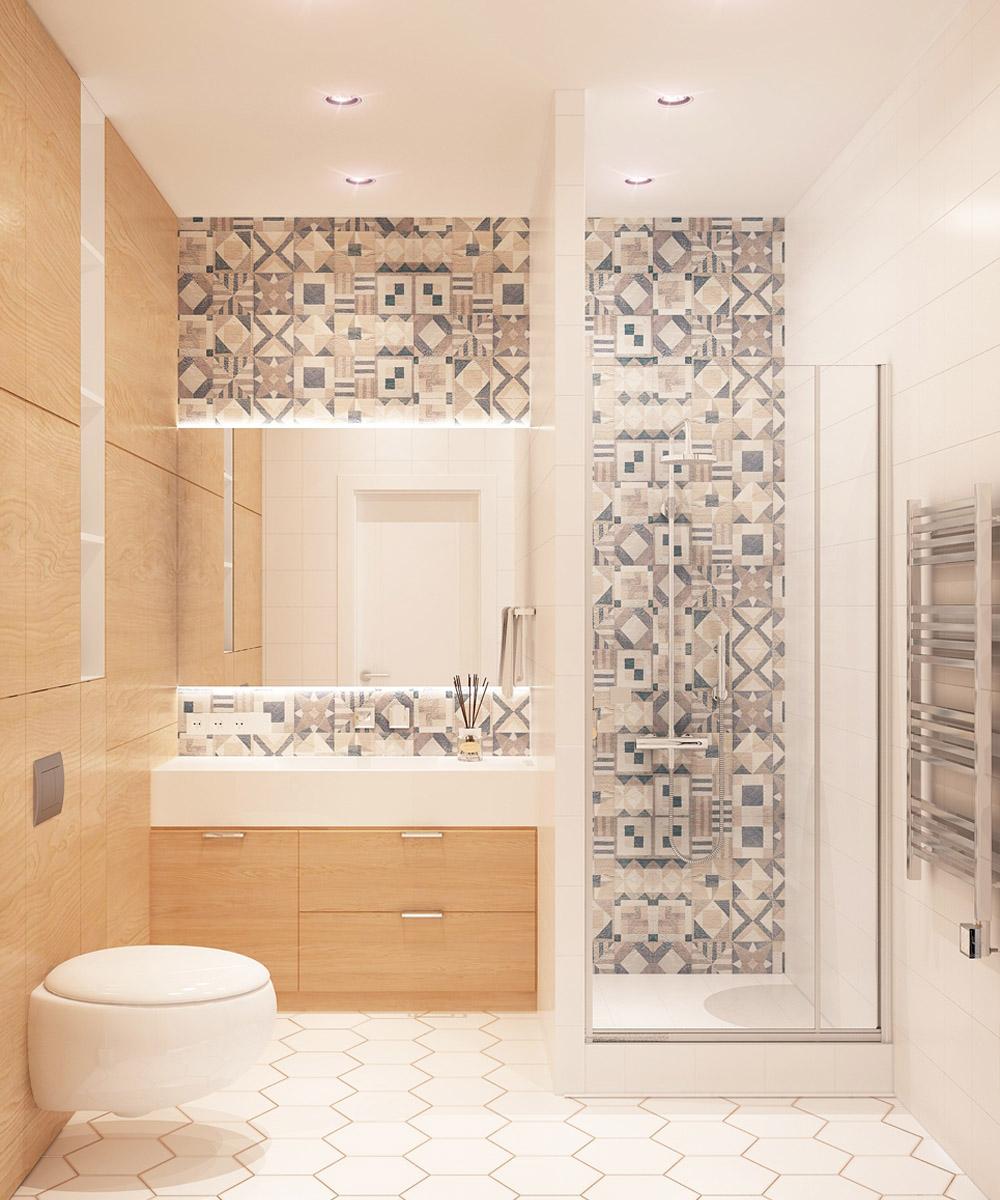 Дизайн ванної кімнати| проект Оболонський проспект