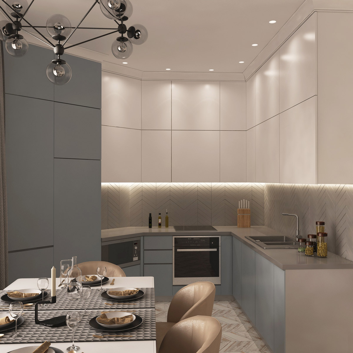 Дизайн кухні | проект Оболонський проспект