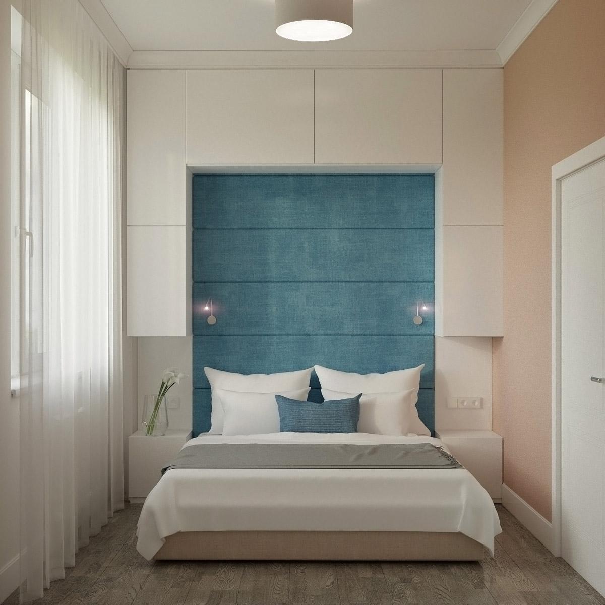 Дизайн спальні | проект Оболонський проспект