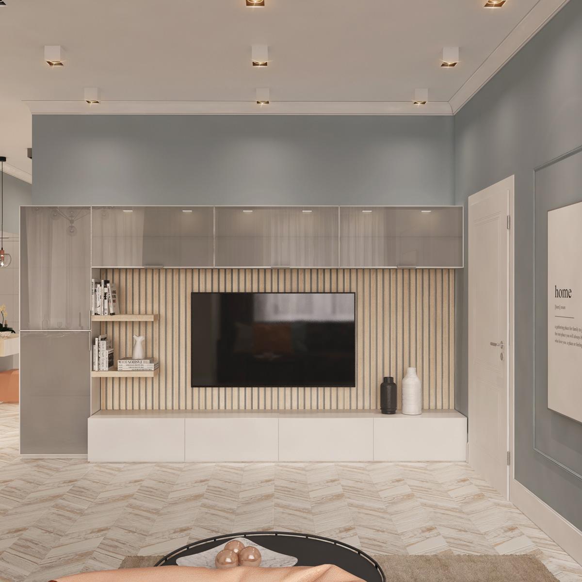 Вид зони відпочинку | дизайн-проект Оболонський проспект