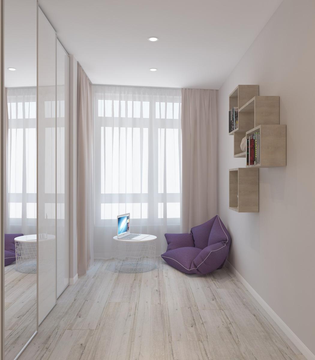 Дизайн кімнати | проект ЖК «Олімпійський»