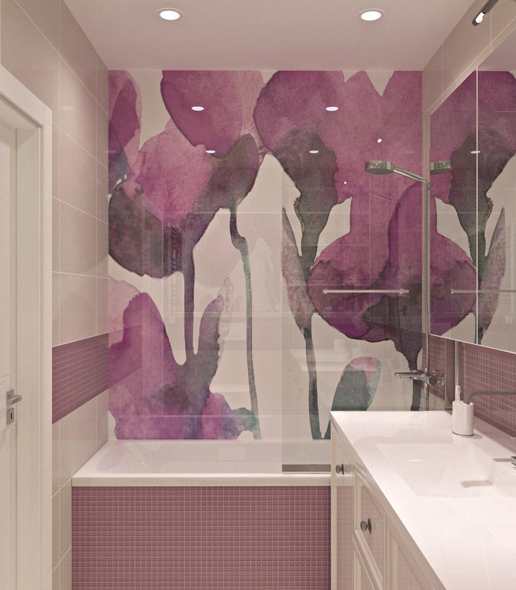 Ванна | дизайн-проект ЖК «Олімпійський»
