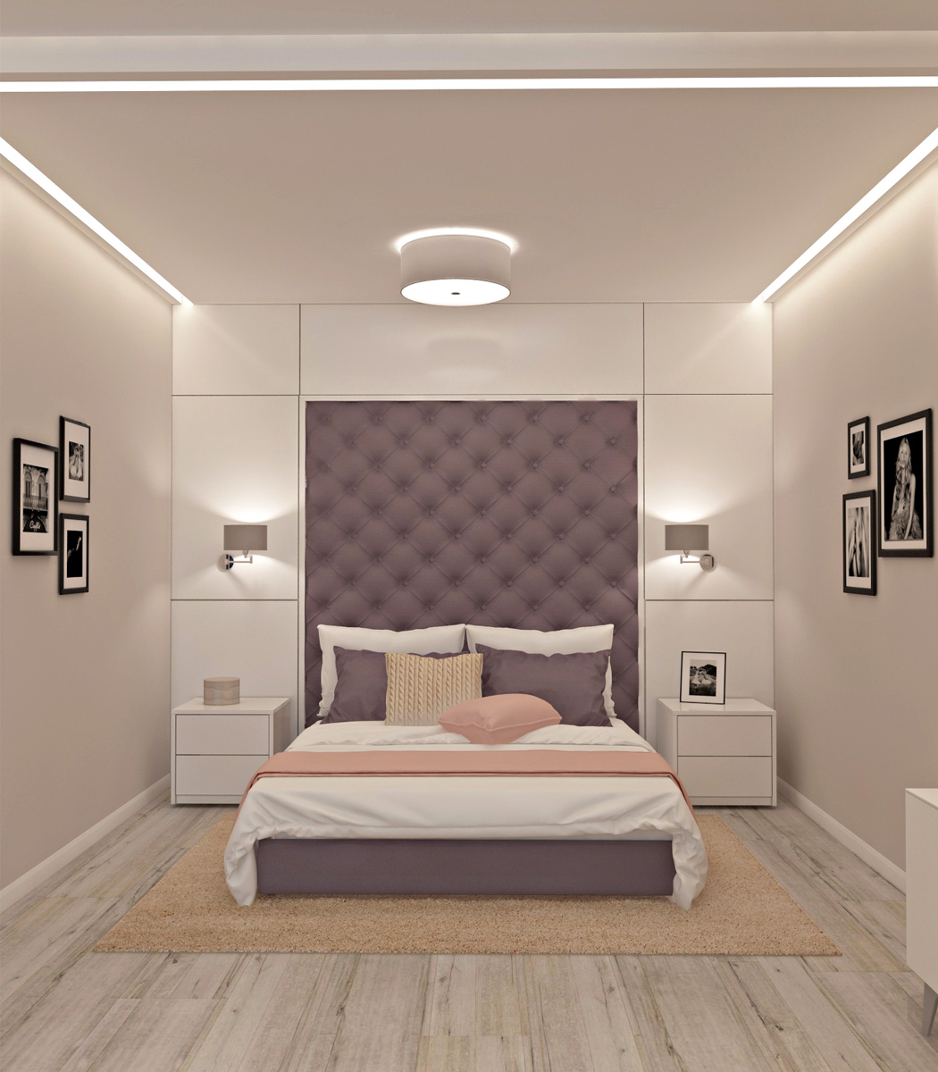 Дизайн спальні | проект ЖК «Олімпійський»