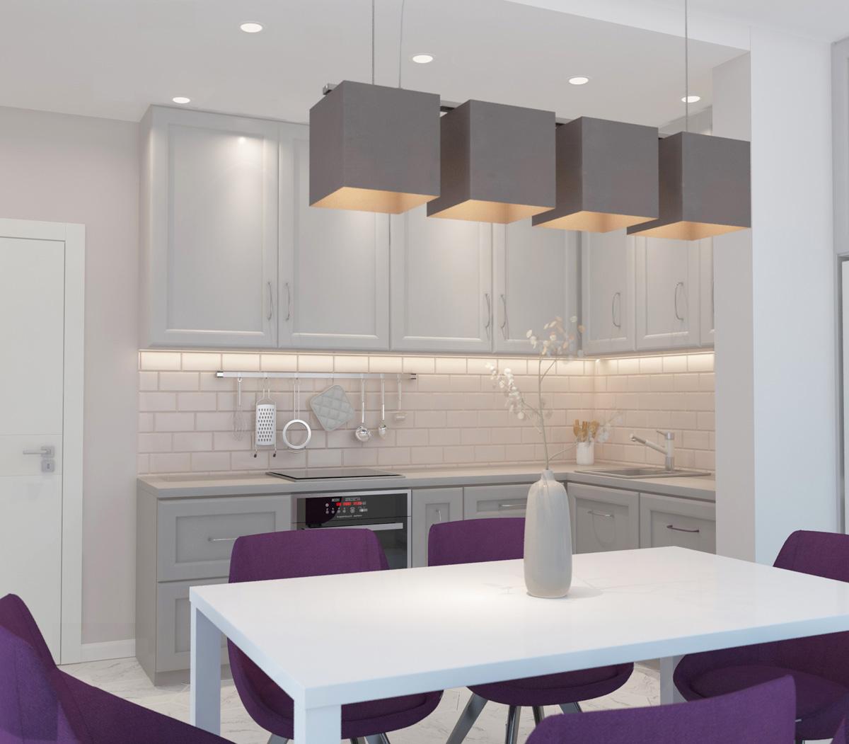 Дизайн кухні | проект ЖК «Олімпійський»