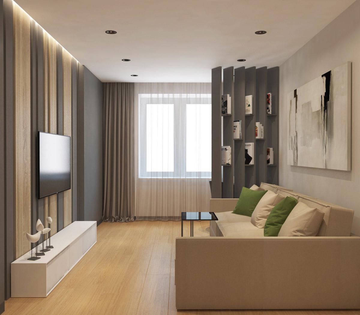 Дизайн квартири у стилі мінімалізм | проект ЖК «Південний Квартал»