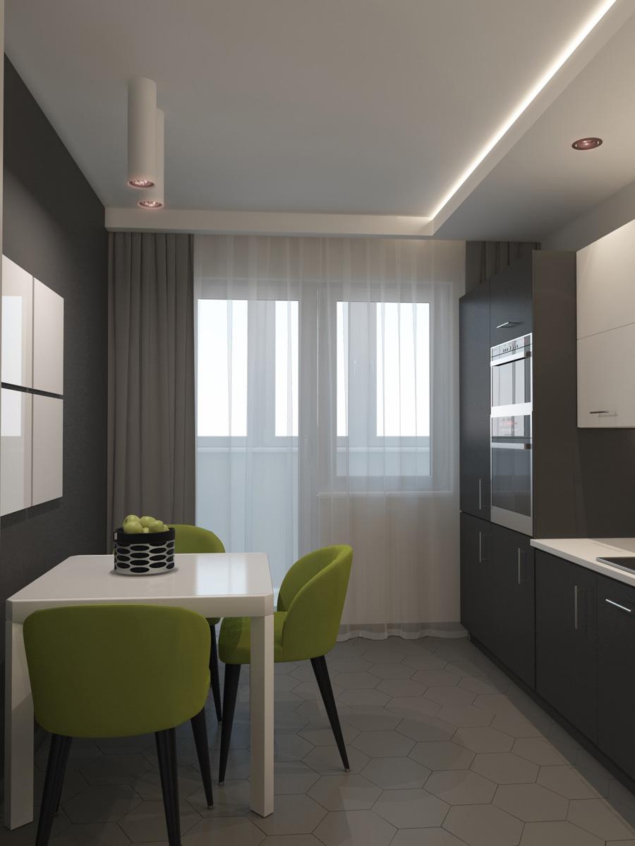 Дизайн кухні | проект ЖК «Південний Квартал»