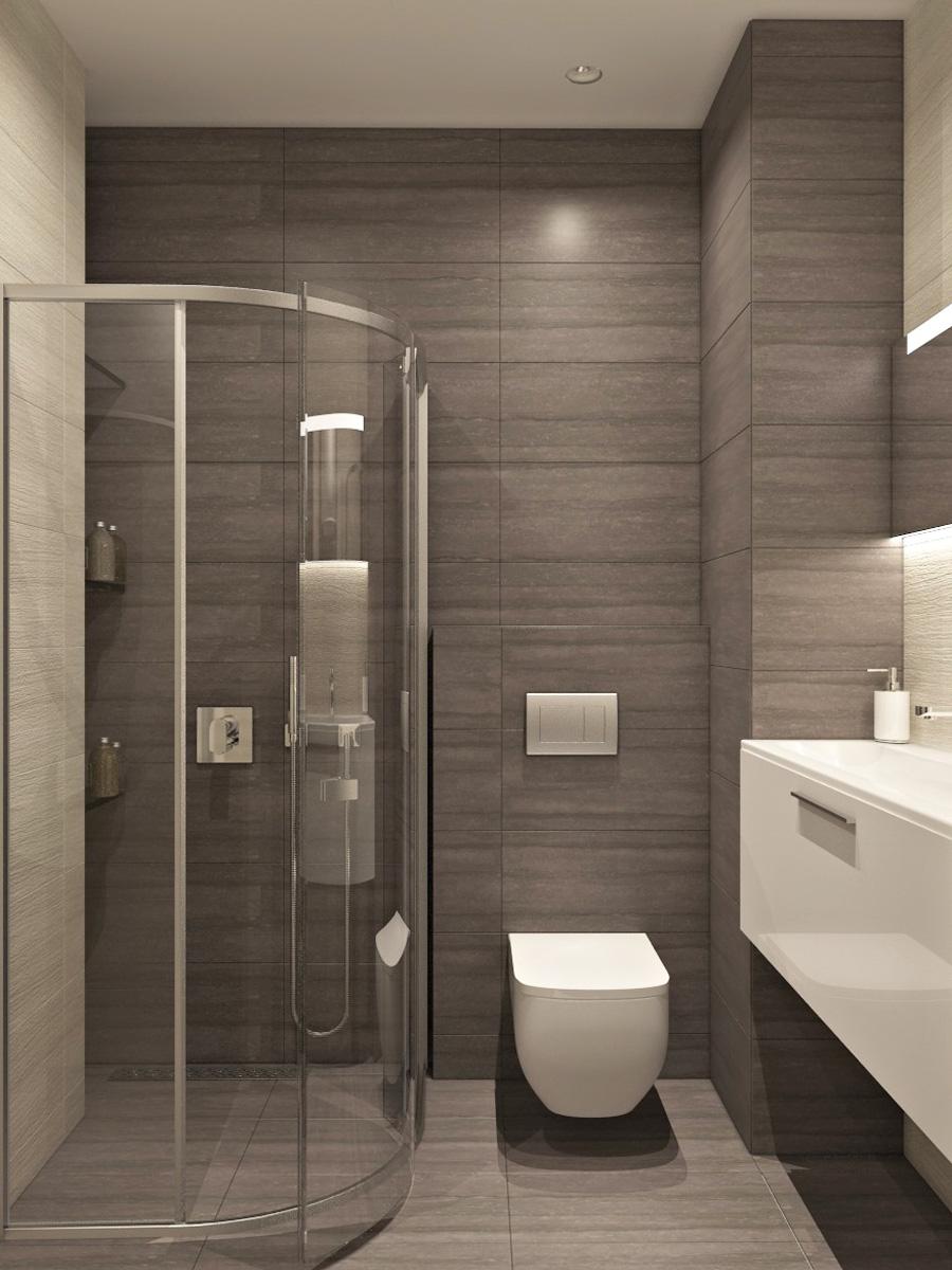 Дизайн ванної кімнати  | проект ЖК «Південний Квартал»