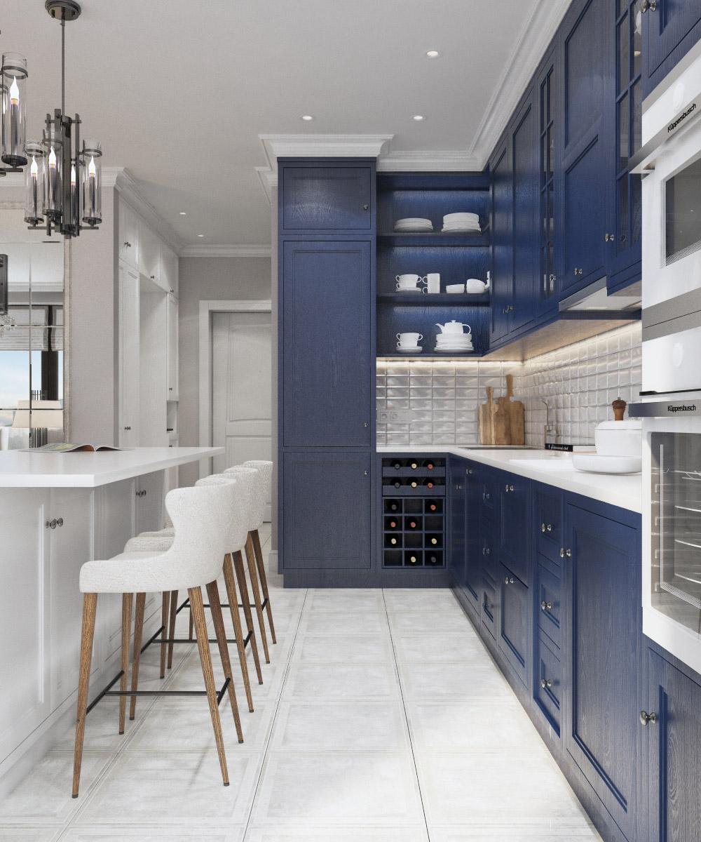 Дизайн кухні | проект квартира ЖК «Зарічний»