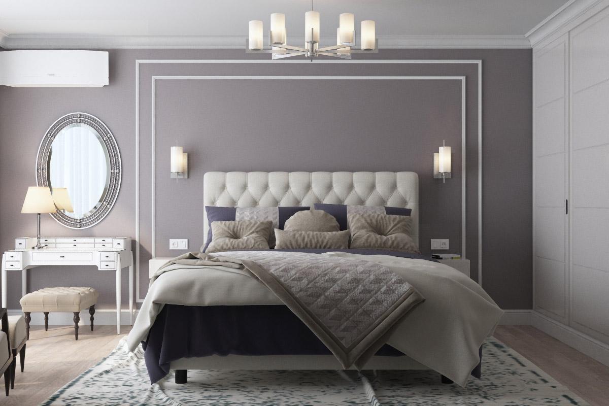 Дизайн спальні | проект ЖК «Зарічний»