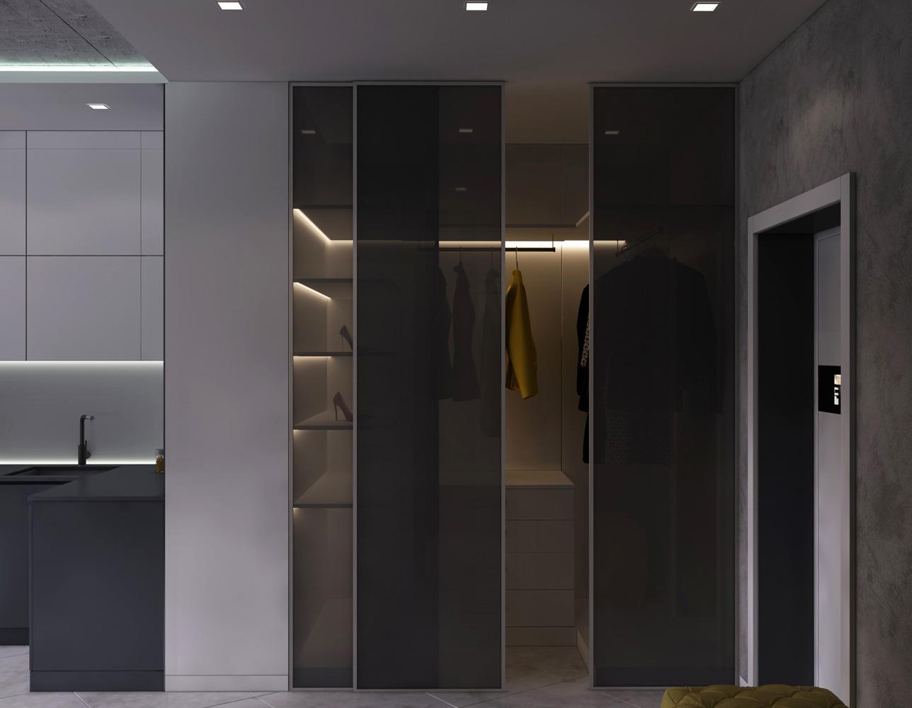 Дизайн гардеробу | шоу-рум «ArtDim»